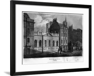 St Paul's School, City of London, 1814- Owen-Framed Giclee Print