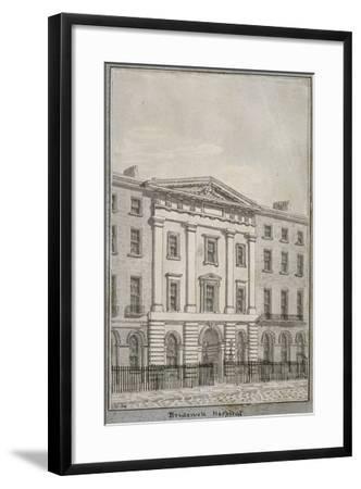 Bridewell, City of London, 1820--Framed Giclee Print