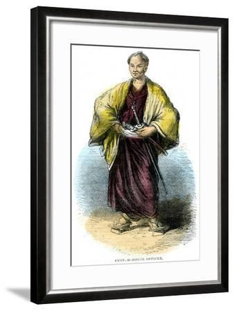 Custom-House Officer, Japan, 19th Century--Framed Giclee Print