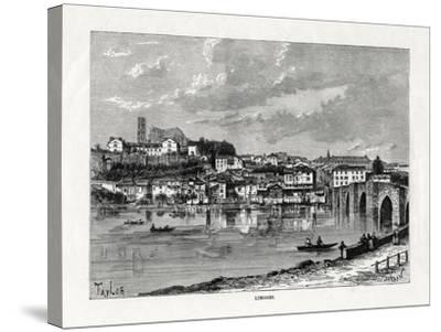 Limoges, France, 1879--Stretched Canvas Print