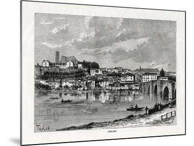Limoges, France, 1879--Mounted Giclee Print