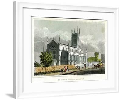 St John's Church, Holloway, Islington, London--Framed Giclee Print