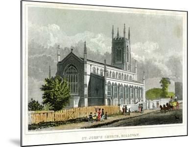 St John's Church, Holloway, Islington, London--Mounted Giclee Print