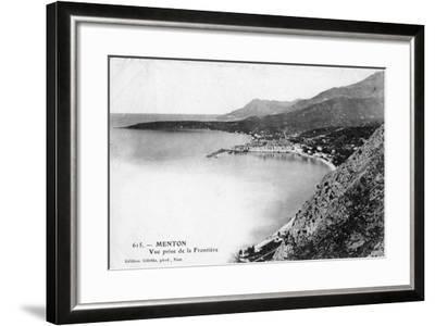 Menton, France, 1902- Giletta-Framed Giclee Print