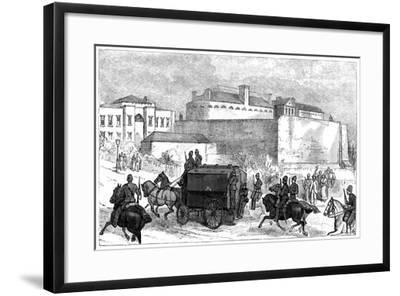Kilmainham Gaol, Dublin, C19th Century--Framed Giclee Print