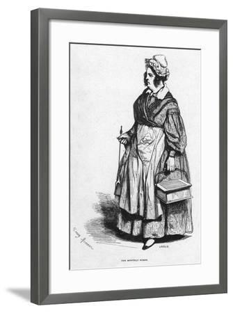 The Monthly Nurse, 19th Century- Lavieille-Framed Giclee Print