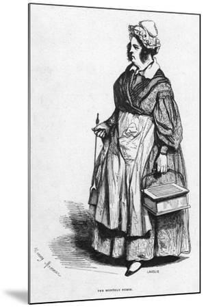 The Monthly Nurse, 19th Century- Lavieille-Mounted Giclee Print