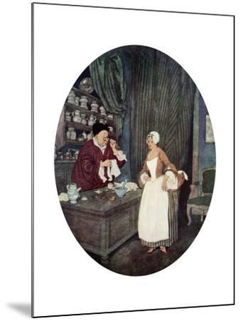 I Never at Saw Sewing So Small, C1900-1950--Mounted Giclee Print