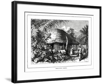 Negro Huts, Jamaica, 19th Century--Framed Giclee Print