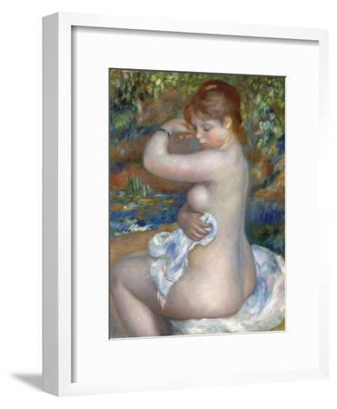 Baigneuse, 1888-Pierre-Auguste Renoir-Framed Giclee Print