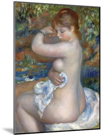 Baigneuse, 1888-Pierre-Auguste Renoir-Mounted Giclee Print