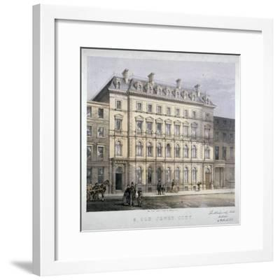 No 8 Old Jewry, City of London, C1865--Framed Giclee Print