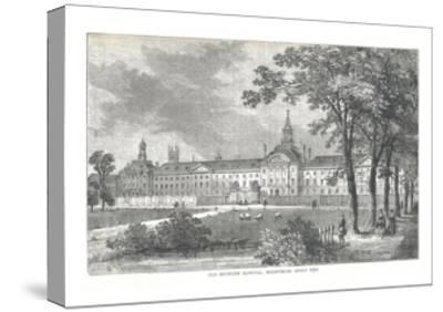 Old Bethlem Hospital. Moorfields About 1750, 1878-Walter Thornbury-Stretched Canvas Print