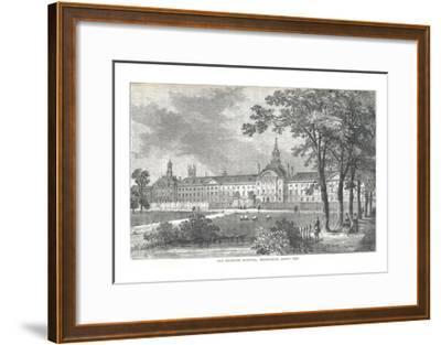 Old Bethlem Hospital. Moorfields About 1750, 1878-Walter Thornbury-Framed Giclee Print