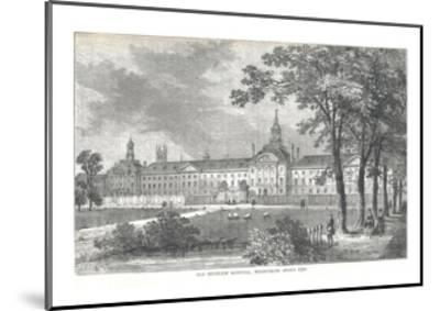 Old Bethlem Hospital. Moorfields About 1750, 1878-Walter Thornbury-Mounted Giclee Print