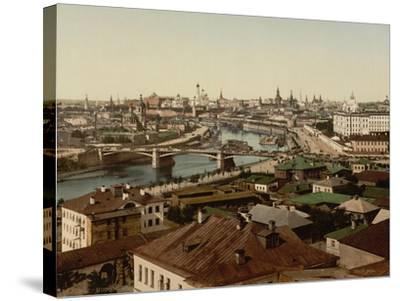 View of Zamoskvorechye (Panoramic View of Mosco), 1890S--Stretched Canvas Print