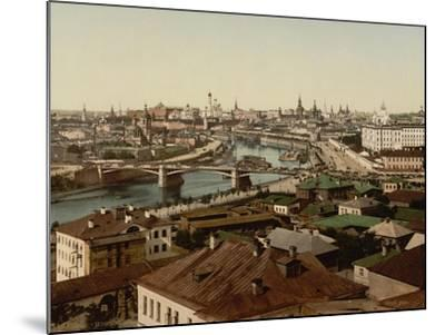 View of Zamoskvorechye (Panoramic View of Mosco), 1890S--Mounted Giclee Print