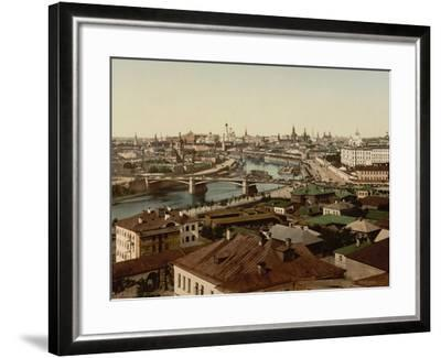 View of Zamoskvorechye (Panoramic View of Mosco), 1890S--Framed Giclee Print