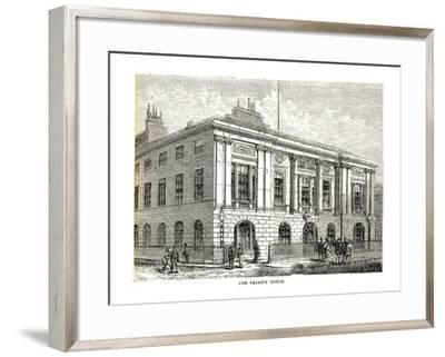 The Trinity House, 1878-Walter Thornbury-Framed Giclee Print