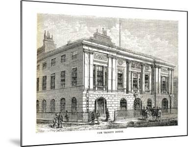 The Trinity House, 1878-Walter Thornbury-Mounted Giclee Print