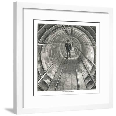 The Tower Tunnel, 1878-Walter Thornbury-Framed Giclee Print