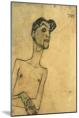 Mime Van Osen, 1910-Egon Schiele-Mounted Giclee Print