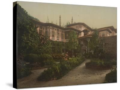 The Khan's Palace in Bakhchisaray, 1890-1900--Stretched Canvas Print