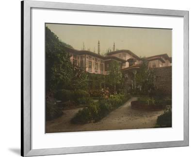The Khan's Palace in Bakhchisaray, 1890-1900--Framed Giclee Print