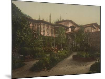 The Khan's Palace in Bakhchisaray, 1890-1900--Mounted Giclee Print