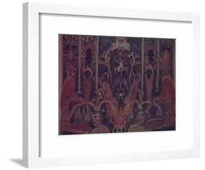 Design of Masquerade Curtain for the Theatre Play the Masquerade by M. Lermontov, 1917-Alexander Yakovlevich Golovin-Framed Giclee Print