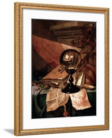 Vanitas, 17th Century-Vincent Laurentz van der Vinne-Framed Giclee Print