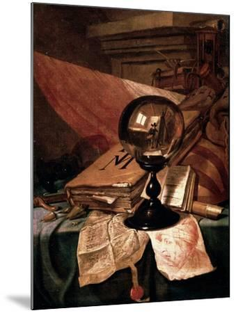 Vanitas, 17th Century-Vincent Laurentz van der Vinne-Mounted Giclee Print