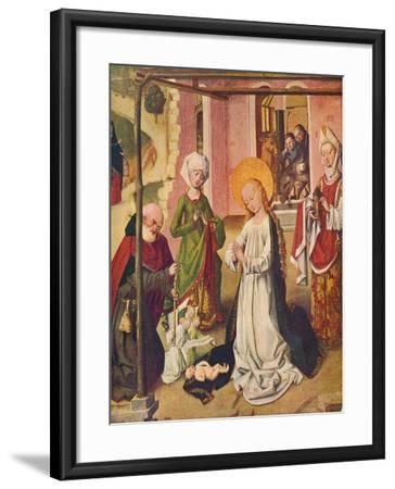 Adoration of the Child, C1480--Framed Giclee Print