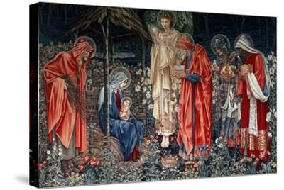 The Adoration of the Magi, Tapestry, 1890- Morris & Co-Stretched Canvas Print