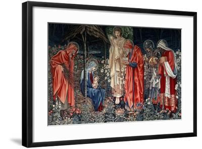The Adoration of the Magi, Tapestry, 1890- Morris & Co-Framed Premium Giclee Print