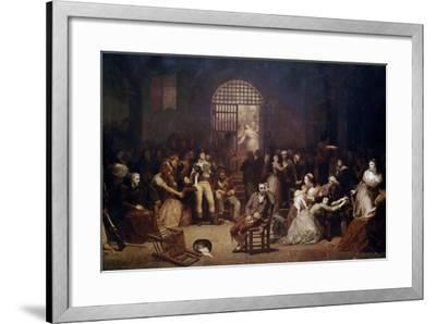 The Call for the Last Victims of the Terror, 7-9 Thermidor, Year 2-Charles Louis Lucien Muller-Framed Giclee Print