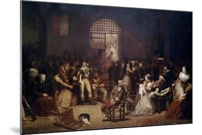 The Call for the Last Victims of the Terror, 7-9 Thermidor, Year 2-Charles Louis Lucien Muller-Mounted Giclee Print