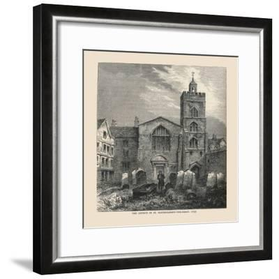The Church of St, Bartholomew-The-Great, 1737--Framed Giclee Print