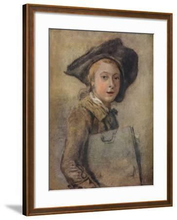 Portrait of the Artist as a Young Man-Francois Hubert Drouais-Framed Giclee Print