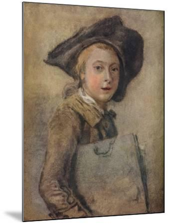 Portrait of the Artist as a Young Man-Francois Hubert Drouais-Mounted Giclee Print