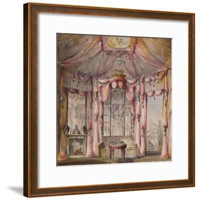 Interior Design for the Boudoir in the Count Bezborodko House in Moscow, 1790S-Nikolai Alexandrovich Lvov-Framed Giclee Print