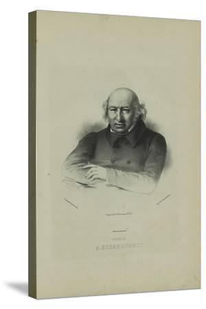 Portrait of the Author Prince Alexander Shakhovskoi (1777-184), 1860S-Pyotr Fyodorovich Borel-Stretched Canvas Print