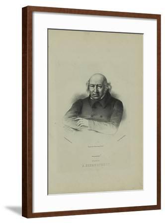 Portrait of the Author Prince Alexander Shakhovskoi (1777-184), 1860S-Pyotr Fyodorovich Borel-Framed Giclee Print