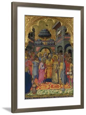 The Marriage of the Virgin, Ca 1380-Niccolò di Bonaccorso-Framed Giclee Print