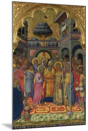 The Marriage of the Virgin, Ca 1380-Niccolò di Bonaccorso-Mounted Giclee Print