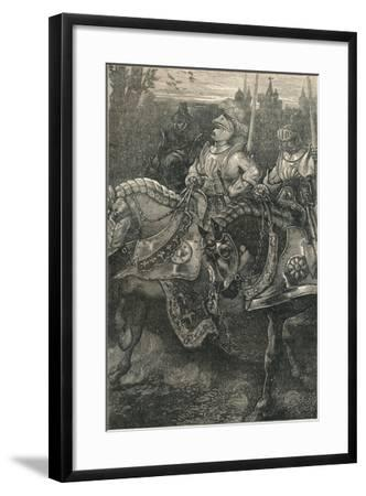 Otterburn - the Advance of Hotspur, (138), C1910--Framed Giclee Print