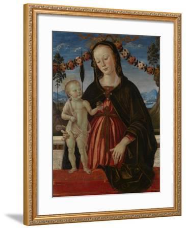 The Virgin and Child, C. 1473-Fiorenzo Di Lorenzo-Framed Giclee Print