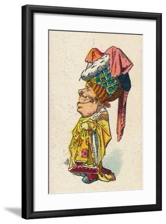 The Duchess Smiling, 1930-John Tenniel-Framed Giclee Print