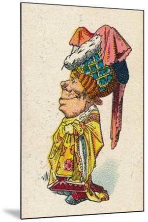 The Duchess Smiling, 1930-John Tenniel-Mounted Giclee Print