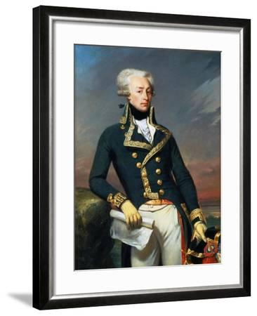 Portrait of Gilbert Motier the Marquis De La Fayette (1757-183), as a Lieutenant General, 1791-Joseph-D?sir? Court-Framed Giclee Print